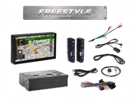 Alpine X701D-F - Freestyle bilradio
