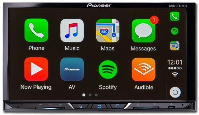 Pioneer AVH Z5000DAB | Bilstereo Bass forsterker høytaler